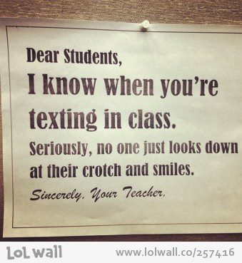 Teachers know it best